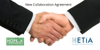 New Collaboration Agreement between HOPE-A and HETiA